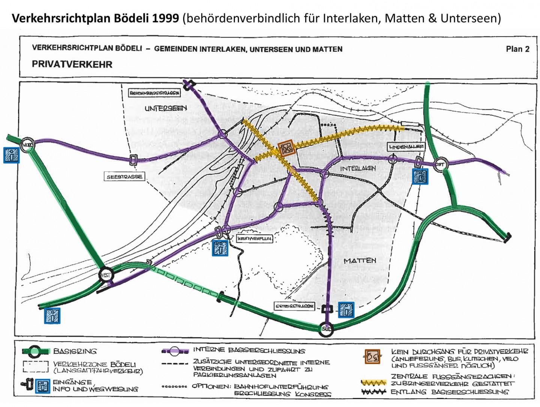 Verkehrsrichtplan 1999